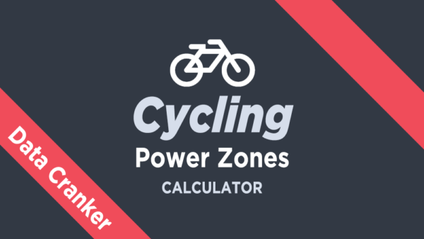Cycling Power Zones Calculator